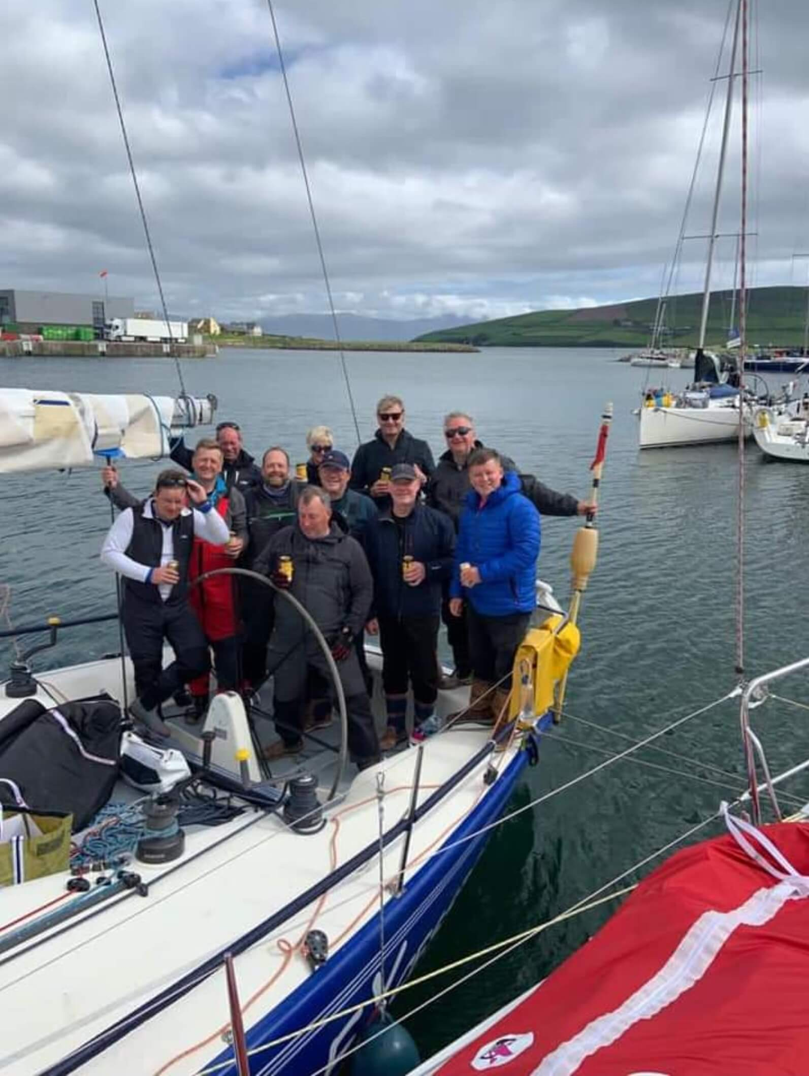 You are currently viewing Members crew Dunlaoghaire Dingle race!