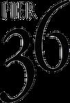 Pier 36 family friendly bar and restaurant logo